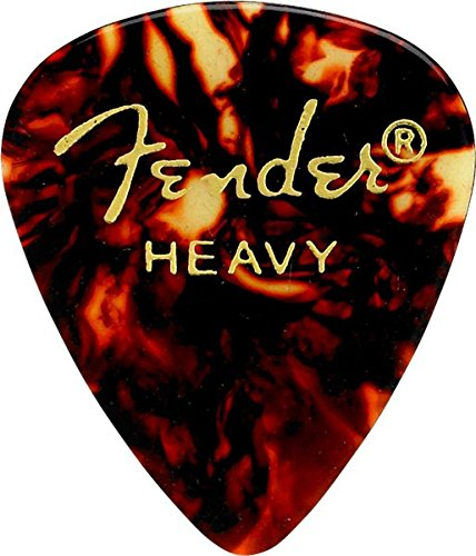 Fender 351 Plektren Heavy (12-er Pack)