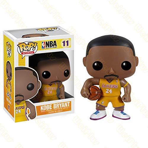 CCLL Pop Deportes NBA Altura - Kobe Bryant Inicio de Tierra de colección de Vinilo Figura Sports Fan Juguetes y GamesAcción Figuras 3.9Inch Toys