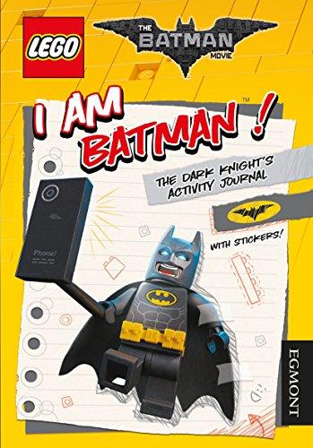 The lego (r) batman movie: i am batman! The dark knight's activity journal (lego (r) dc comics)