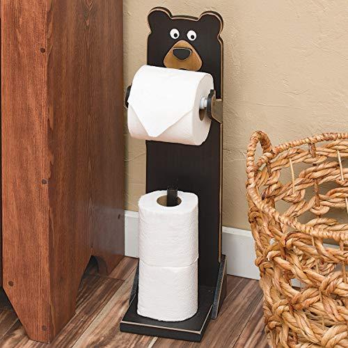 Top 10 best selling list for standing black bear toilet paper holder