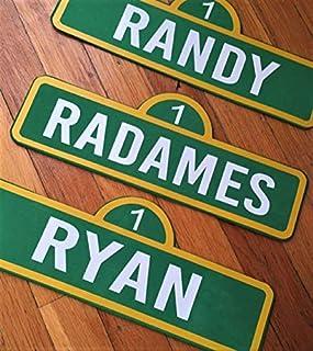 Custom Name Sesame Street Sign