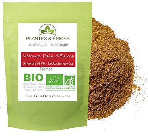 Plantes & Epices - Mélange Pain d'épices BIO - Sachet Fraîcheur Biodégradable Refermable (100g)