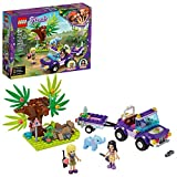 LEGO Friends Baby Elephant Jungle Rescue 41421 Adventure Building Kit; Animal Rescue Playset That Comes with a Toy Truck and Trailer, Plus Friends Emma and Stephanie, New 2020 (203 Pieces)
