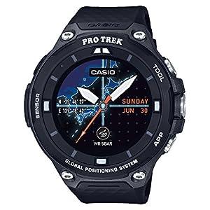 """[カシオ] 腕時計 スマートアウトドアウォッチ プロトレックスマート GPS搭載 WSD-F20-BK ブラック"""""""