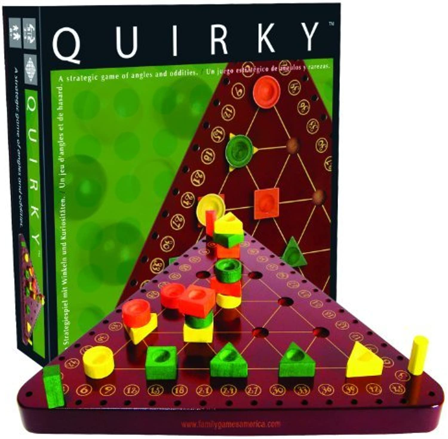 Quirky Strategy Game by Family Games