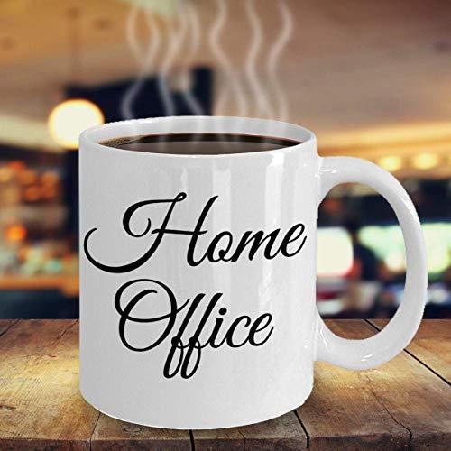 Home Office Spaß Einzigartige virtuelle WorkfromHome Kaffee Teebecher Geschenk für Mitarbeiter Boss Frau Home Office Kursiv
