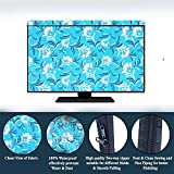 Dream King Printed led tv Cover Compatible for Samsung 65 inches led tvs (All Models)