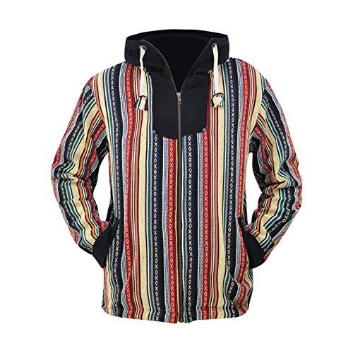 virblatt Sudadera con Capucha Baja Hombre y Baja Jacket en Blanco y Negro - Maastricht L