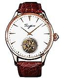 SU8000IGW Tourbillon Master Seagull ST8000 Reloj mecánico para hombre con movimiento de cristal de zafiro 1963