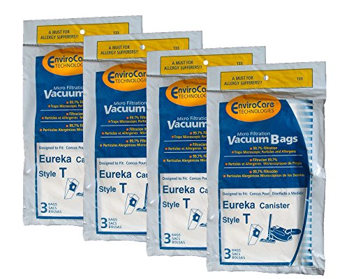 Best eureka maxima canister vacuum bags on the market