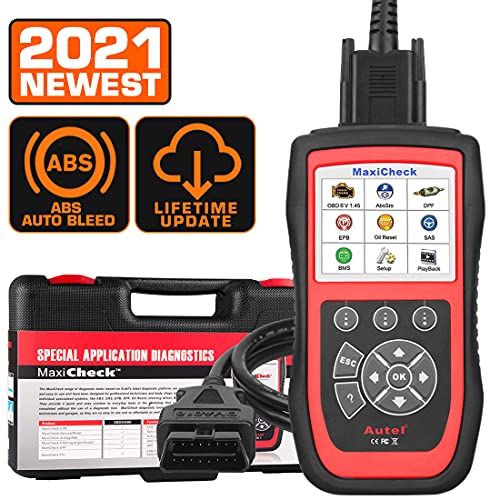 Autel MaxiCheck Pro ABS Autobleed OBD2 Diagnostic Tool, with ABS SRS Airbag, Oil Reset, SAS, EPB, BMS for Specific Vehicles, Lifetime Free Update, Affordable Ideal Service Tool for Technicians  DIYers