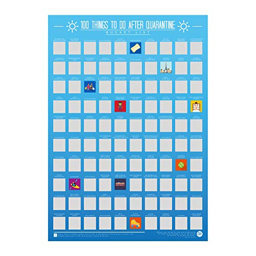 100 Things To Do After Quarantine Bucket List Poster