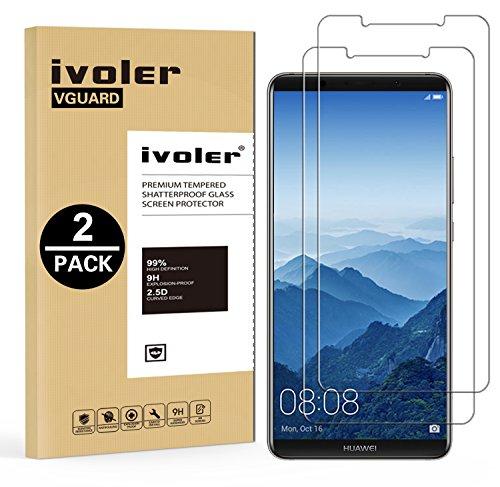 iVoler [2 Pack] Pellicola Vetro Temperato per Huawei Mate 10 PRO, Pellicola Protettiva, Protezione per Schermo