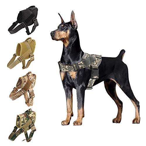 Hundegeschirr K9 Walking Verstellbares Nylon-Hundehalsband Weste...