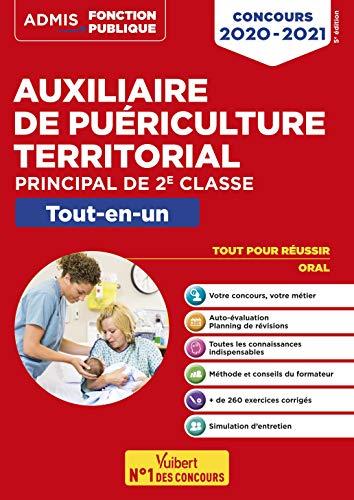 Concours Auxiliaire de puériculture territorial - Catégorie C - Tout-en-un: Concours 2020-2021 (2019)