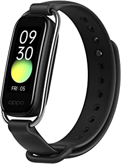 OPPO Smart Band with Extra Sport Strap - Continuous Blood Oxygen Saturation Monitoring(spO2, Up to 12 Days Battery Life, ...
