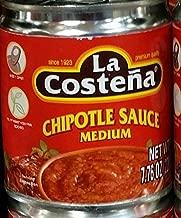 La Costena Chipotle Sauce, Medium 7.76 Oz (Pack of 4)