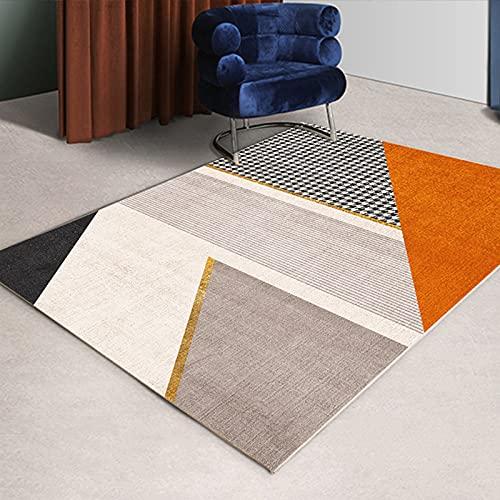 Gpink Tappeto Rettangolare da Salotto Geometrico Semplice Divano E Tavolino Nordici Tappeto da Comodino Camera da Letto Completa di Ampia Area