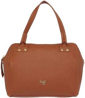Baggit Women's Synthetic Shoulder Bag (Brown)