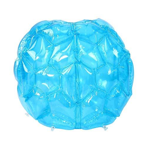 Stoßstangenbälle Bubble Ball Fußball Bälle Wearable Körper Bumper Ball Durable PVC Bounce Sumo-Anzüge Spielzeug für Kinder Kinder Draussen Spiel-Ball-Spiele,Blau