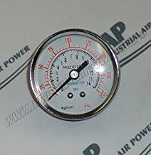 23192503 Pressure Gauge - Designed for use with Ingersoll Rand Air Compressors