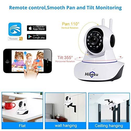 1080P 1536P IP Camera Wireless Home Security Camera di sorveglianza Wifi della macchina fotografica di visione notturna CCTV fotocamera da 2 MP Baby Monitor Security anti-theft