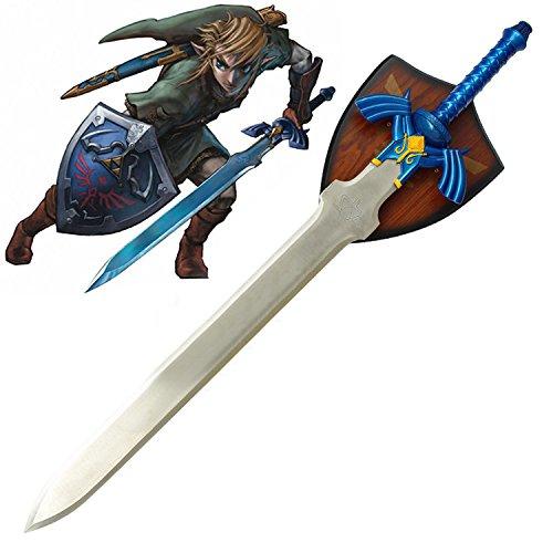 RealFireNSteel - Link's Master Sword (with Plaque)