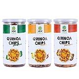 Quinoa Chips - Jalapeno Quinoa Chips - Achari & Quinoa Chips - Peri Peri (450gm)