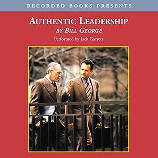 Authentic Leadership audiobook cover art