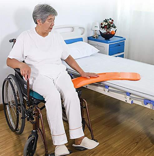 summerr Rollstuhl Rutschbrett Transferhilfe,Schaltplatte, Hochleistungsschiebetafeln Kurzstreckenmobil für den Transfer von Senioren und Handicap