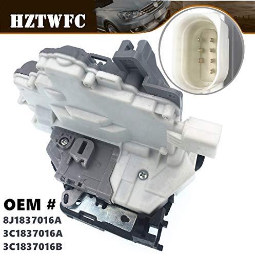 HZTWFC Centrale deurvergrendeling rechtsvoor 8J1837016A 3C1837016A 3C1837016B compatibel voor VW Passat B6 - Skoda Superb - A4 A5 Q5 Q7