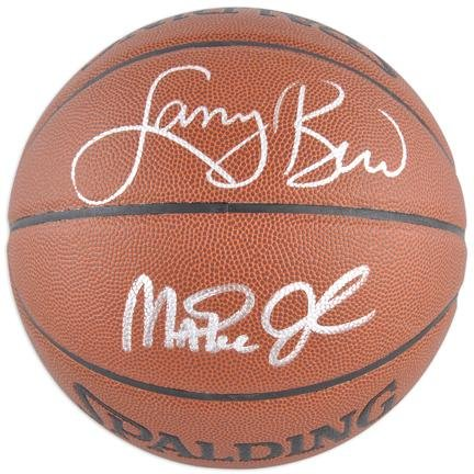 Magic Johnson Los Angeles Lakers Hand Signed Spalding NBA Indoor Outdoor Basketball