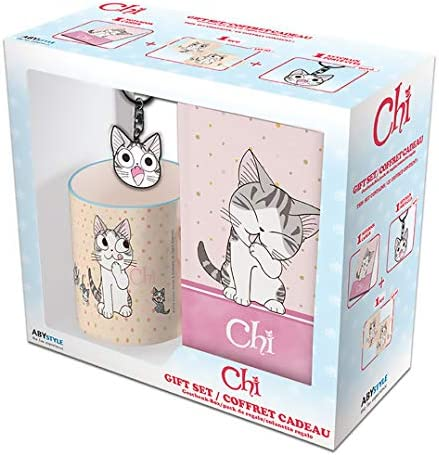 Chi s Sweet Home Chi Cat Lover s Gift Set Includes Mug Notebook and Keychain product image