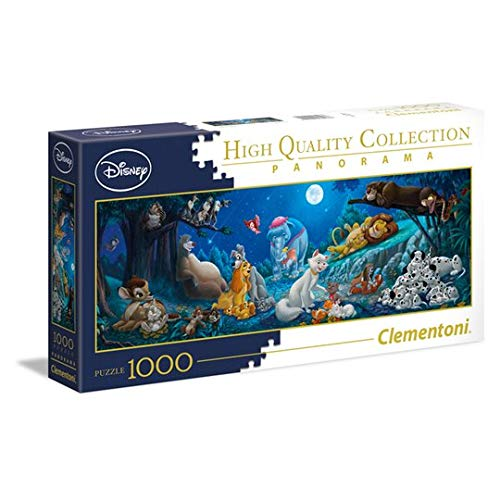 Disney Clementoni Panarama Jigsaw Puzzle 1000 Pieces - Sweet Nights