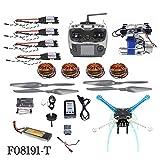 QWinOut High-Powered DIY GPS Drone S500 PCB APM GPS M8N 700KV 30A 4400MAH 30C 4-Axis Aircraft Racer with Camera Gimbal PTZ (Full Set)