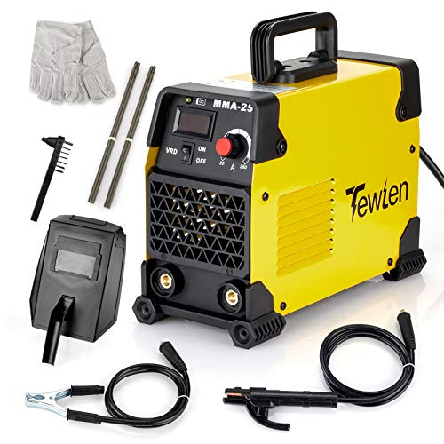 250A 110/220V ARC Welding Machine Kit, TEWLEN Stick Welder VRD Hot Start Inverter Welder Dual Voltage Electric Welding...