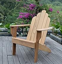 Cambridge Casual Indonesian Arie Adirondack Chair, Natural Teak