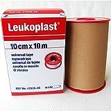 Esparadrapo Leukoplast Tela color carne 10cmx 10 m-Unidad