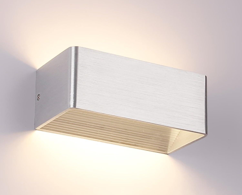 Add Wandleuchte Nordeuropa Moderne Nacht Wohnzimmer Schlafzimmer führte Rechteck Gang Korridor Lichter Spiegel Licht Lnge 20 × Breite 10 × Hhe 8cm (Farbe    3)