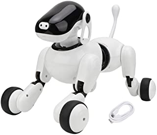 HONG111 Robot Dog, Robots for Kids, Dog Robot Toys for Kids 2,3,4,5,6,7,8,9,10 Year Olds and Up, Intelligent Early Educati...