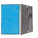 XUNLAN Durable 1 Set (2 piezas) Filtro purificador de aire de carbón activado HEPA Fit para reemplazo Panasonic F-PXH55C F-VXH50C F-ZXHD55C F-ZXHP55C usable