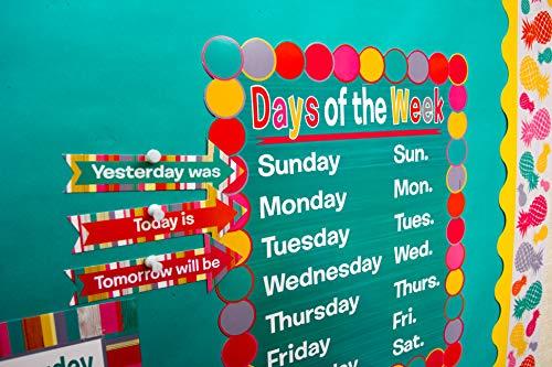 Teacher Created Resources (2685) Tropical Punch Calendar Bulletin Board Photo #6