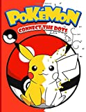 Pokemon Connect The Dots: Pokemon Adult Connect Dots, Coloring, Activity Books For Women And Men