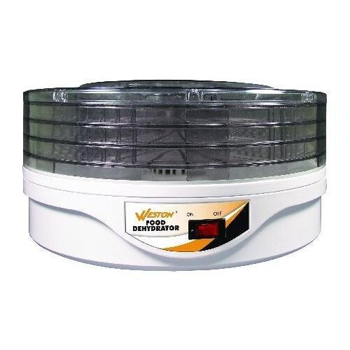 Weston 75-0601-W 4 Tier Food Dehydrator - ABS Plastic