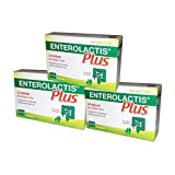 3X ENTEROLACTIS PLUS 10 BUSTINE - Integratore Fermenti Lattici Vivi - 30 BUST