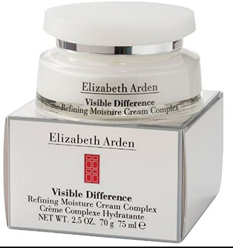 Elizabeth Arden' Visible Difference Refining Moisture Cream Complex 75ml, a dramatic improvement in skin's appearance in just 14-21 days(One Bottle)