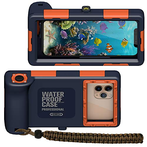 潜水用ケース iPhone 防水ケース スマホ用 水中撮影・写真 IPX8標準防水レベル 水深さ15…