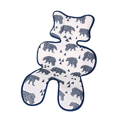 BGH ER-NMBGH 3D Mesh Sitzkissen, Kinderwagen Mat atmungsaktiv, Kleinkind Bequeme Auflage für Kinderwagen Sommer