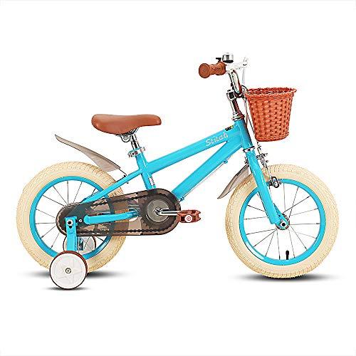 STITCH Bicicleta infantil de 16 pulgadas para niñas y niño