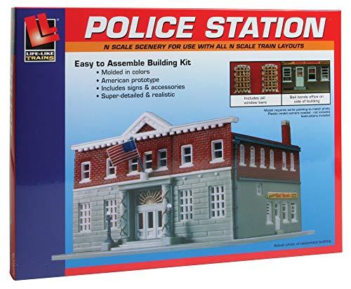 Piste N Kit De Montage Police Station